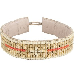 TEMBI JEWELLERY armband Venice RMG16 B I G  C R O SS