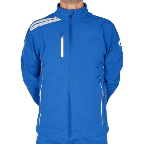 Quick Softshell Dave SR - Blauw/Wit