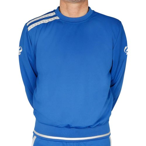 Sweater Gijs SR - Royal Blauw/Wit