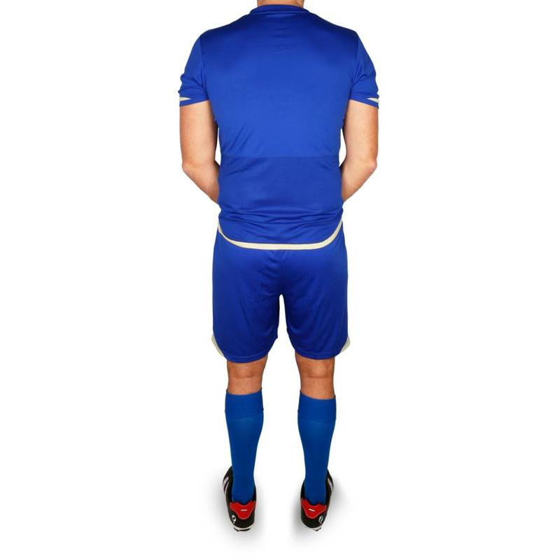 Trainingsset Stefan SR - Blauw/Wit