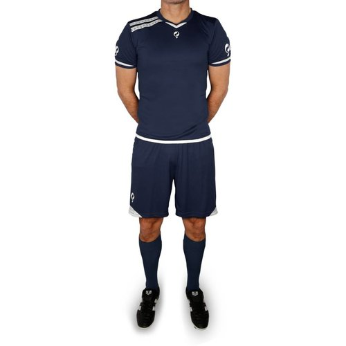 Trainingsset Stefan SR - Navy/Wit