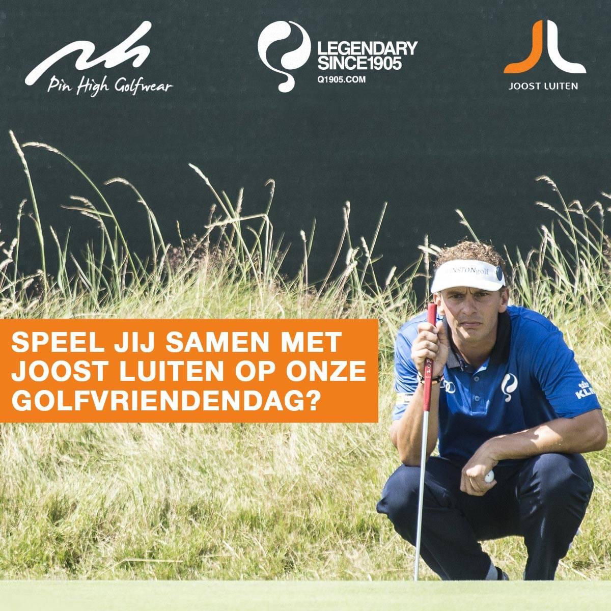 Golf met Joost Luiten