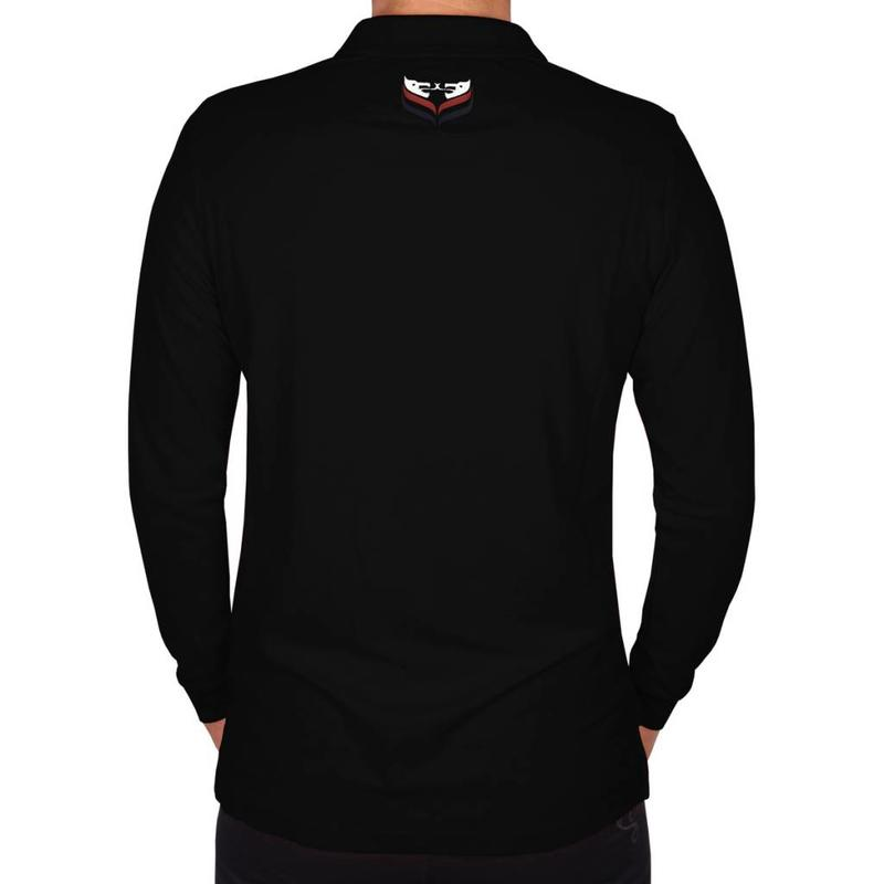 Q1905 Men's Longsleeve Polo JL High Black