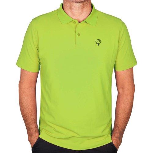 Heren Polo JL Flag Light Green