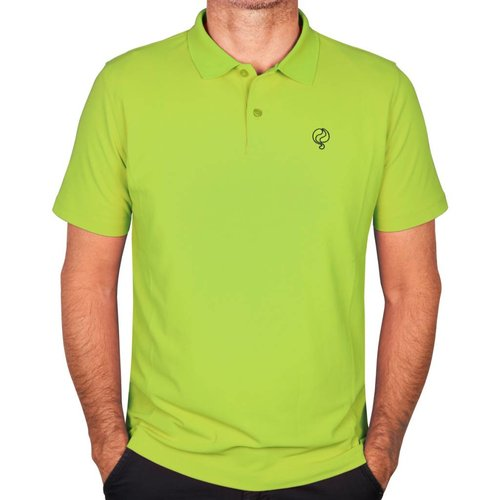 Q1905 Men's Polo JL Flag Light Green