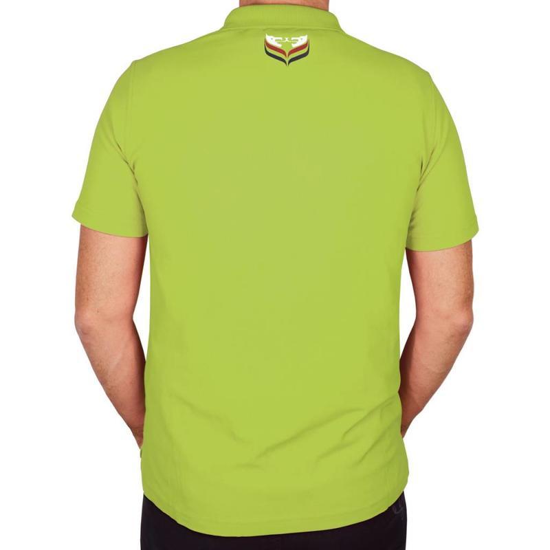 Q1905 Men's Polo JL Flag Light Green