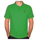Heren Polo JL Flag Green
