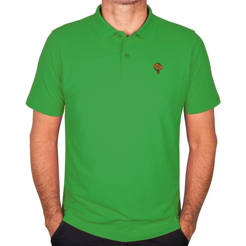 Q1905 Men's Polo JL Flag Green