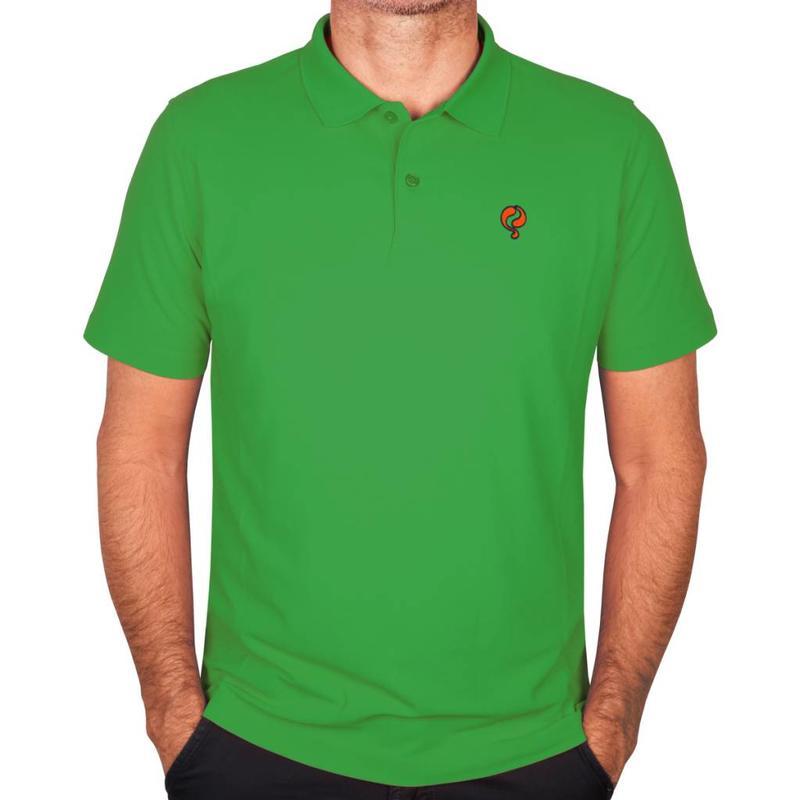 Heren Polo JL Flag Green