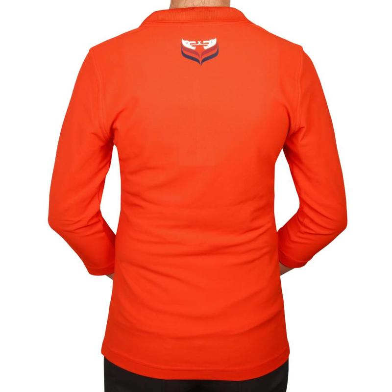 Q1905 Women's 3/4 Polo Distance Orange