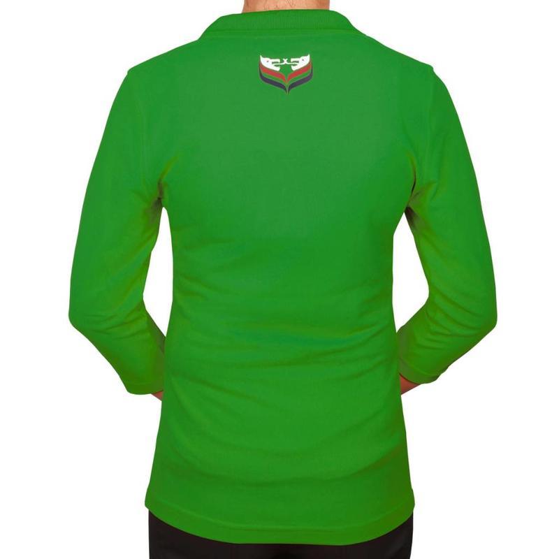 Dames Driekwart Polo Distance Green