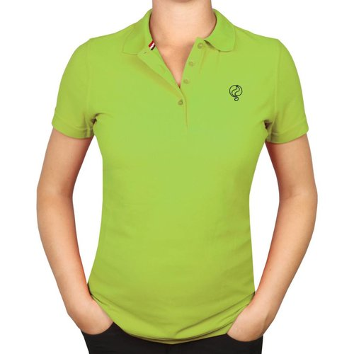 Dames Polo Square Light Green