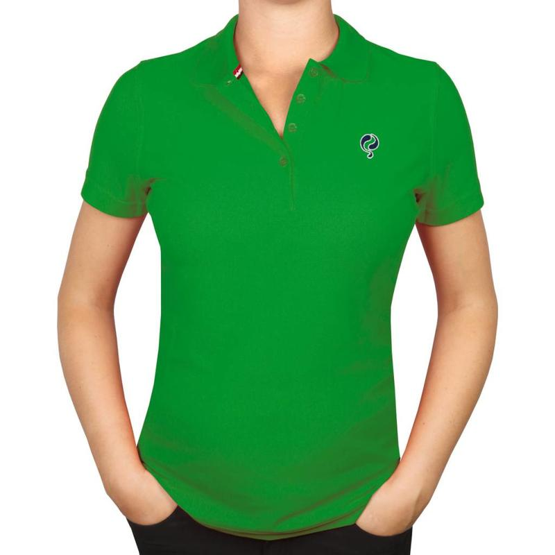 Dames Polo Square Green
