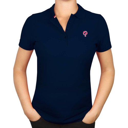 Dames Polo Square Deep Navy