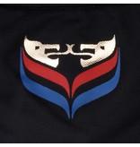 Heren Polo JL Flag Deep Azul
