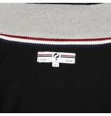 Q1905 Men's Pullover Half Zip Stoke Black