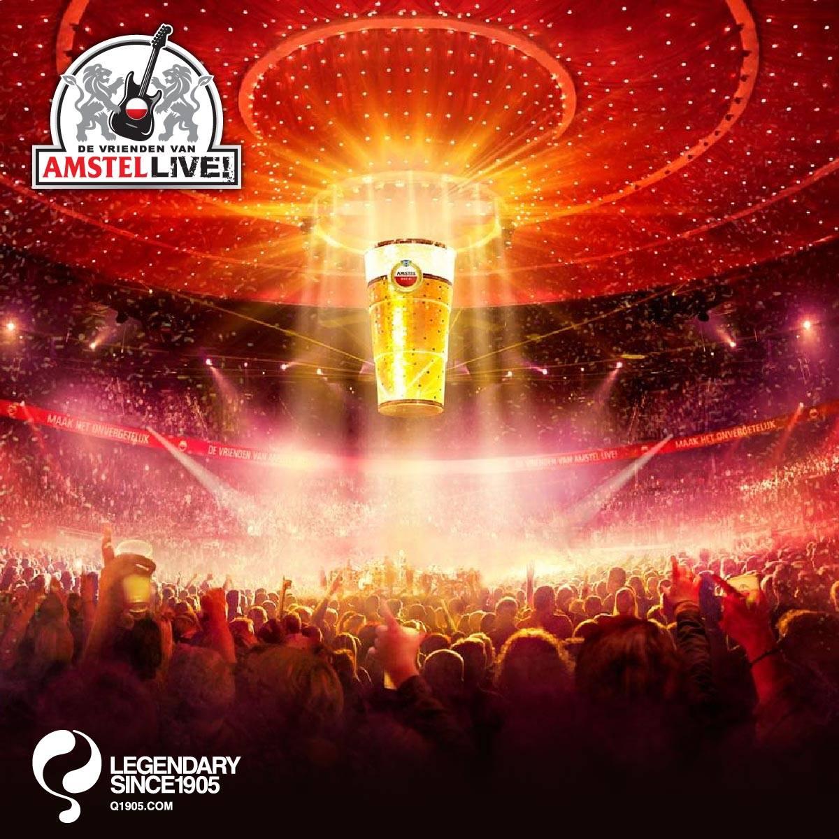 Ga met Quick naar De Vrienden van Amstel LIVE 2016!