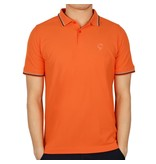 Heren Polo JL Center Orange