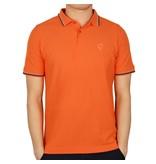 Heren Polo JL Center Orange