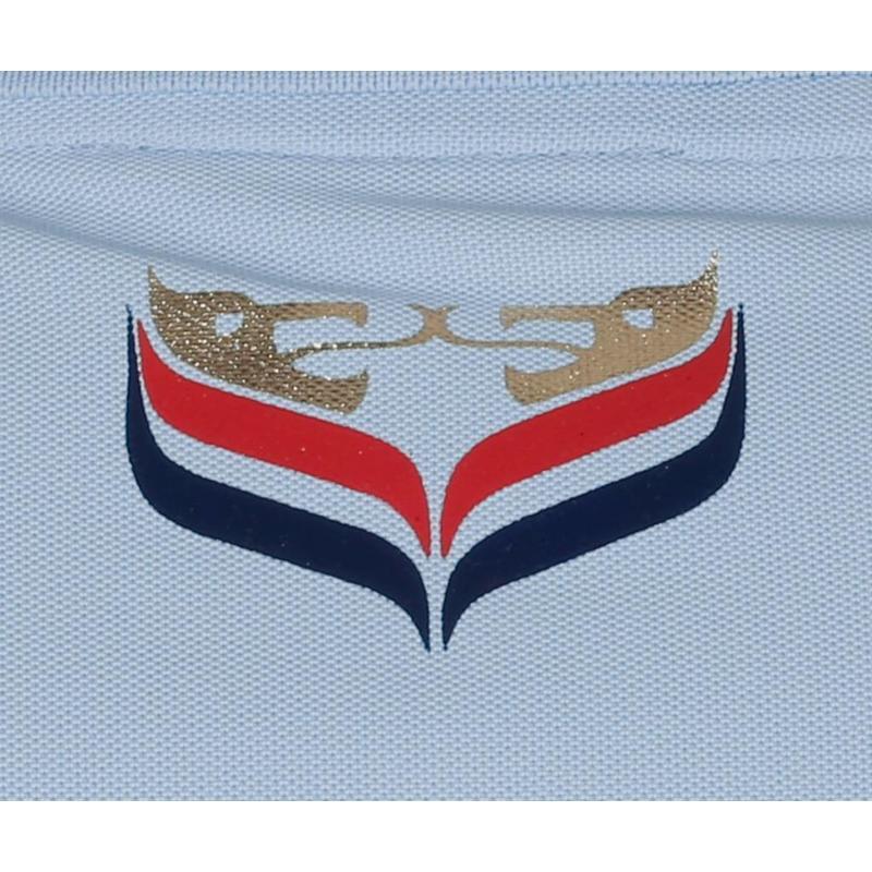 Men's Golf Polo JL Center Lt Azul