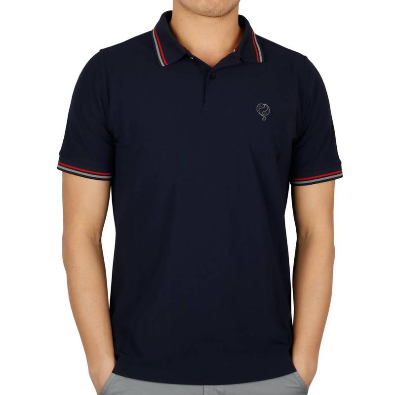 Heren Polo JL Center Navy