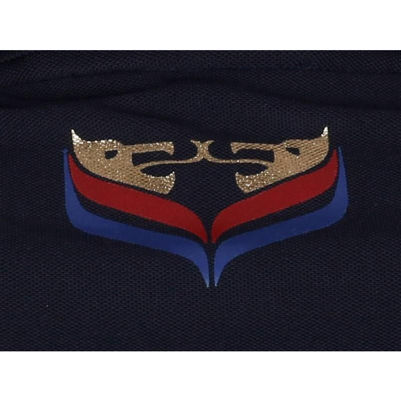 Heren Longsleeve Polo JL High Navy