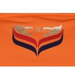 Heren Longsleeve Polo JL High Orange
