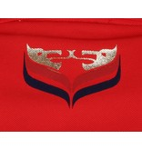 Men's Golf Polo JL Flag Red