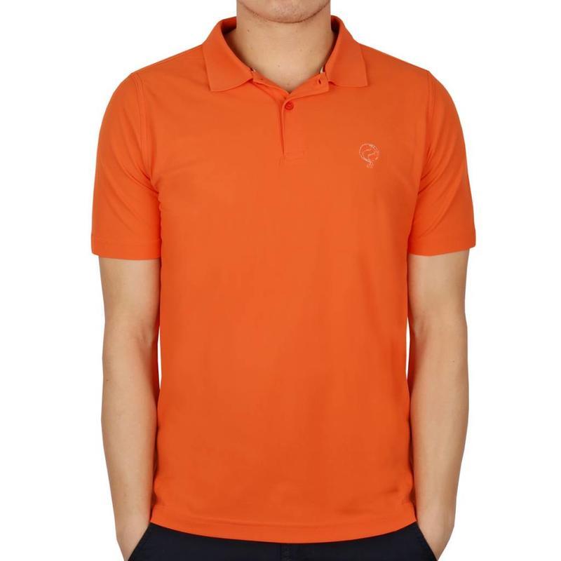 Men's Golf Polo JL Flag Orange