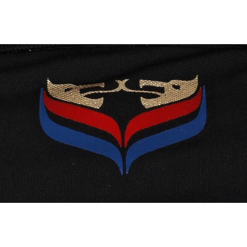 Q1905 Heren Polo JL Flag Black