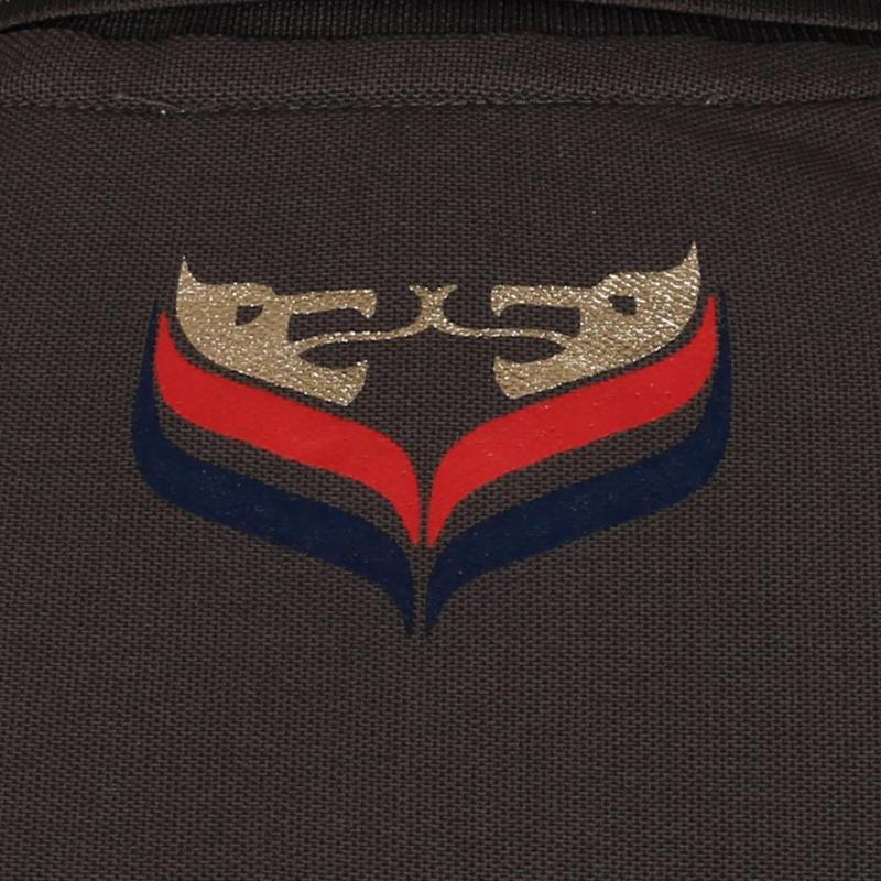 Q1905 Men's Golf Polo JL Flag Dk Grey