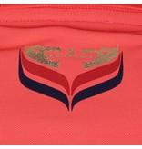 Dames Driekwart Polo Distance Scarlet Pink