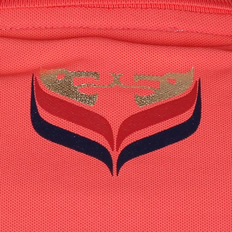 Dames Polo Square Scarlet Pink