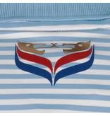 Q1905 Heren Polo Stripe JL Punch Lt Azul / White