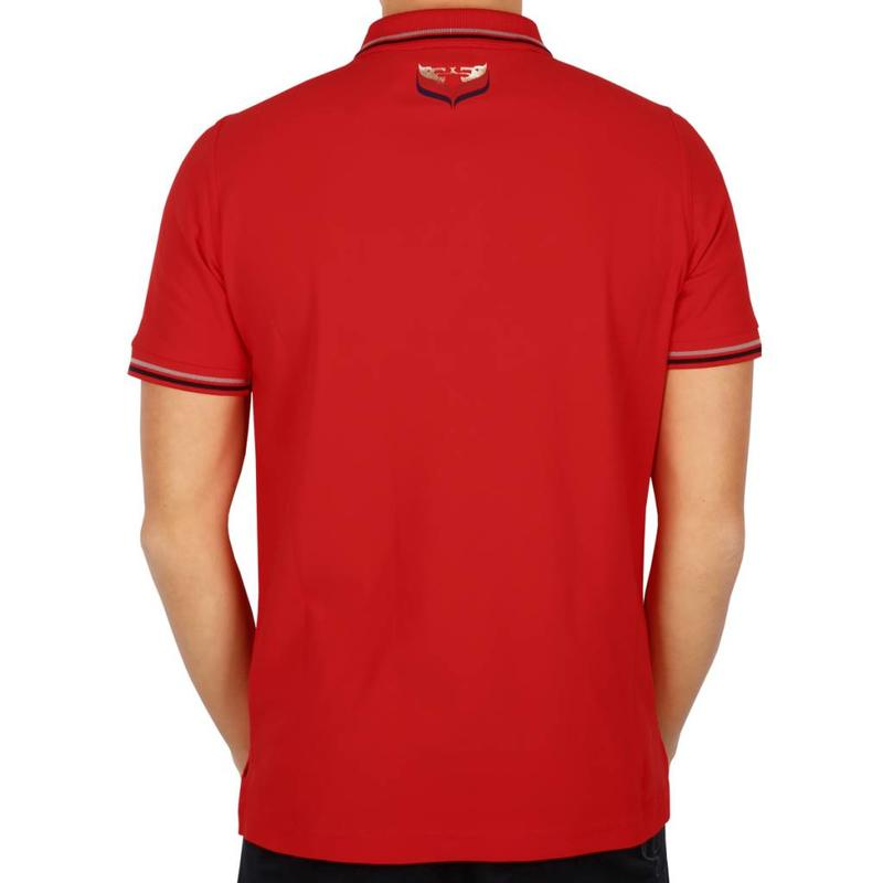 Heren Polo JL Center Red