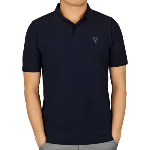 Heren Polo JL Flag Navy