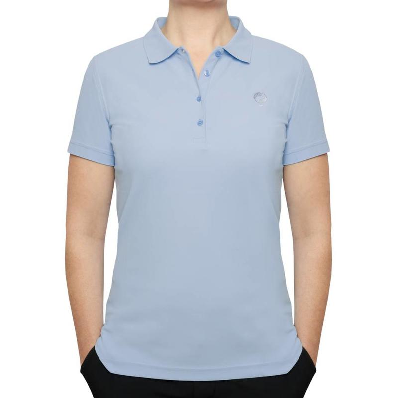 Dames Polo Square Lt Azul