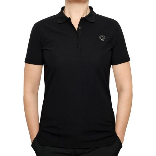 Women's Golf Polo Square Black
