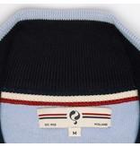 Heren Pullover Half Zip Stoke Light Azul / Deep Navy
