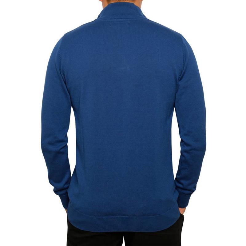 Heren Pullover Half Zip Stoke Skydiver / Deep Navy