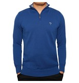 Men's Pullover Half Zip Stoke Skydiver / Greyhound