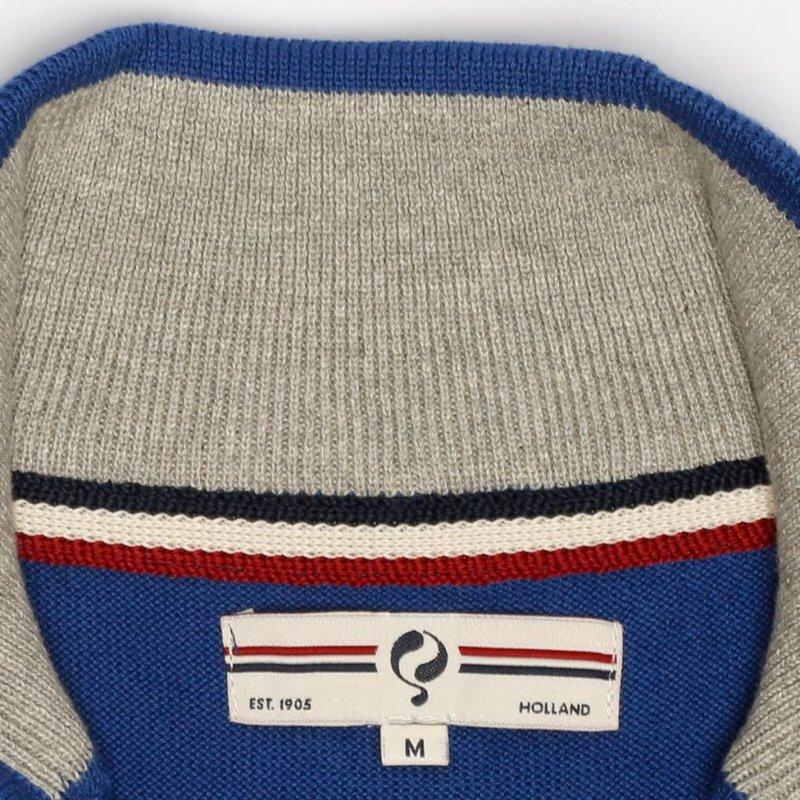 Heren Pullover Half Zip Stoke Skydiver / Greyhound