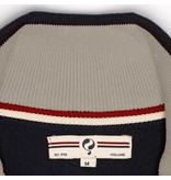 Heren Pullover Half Zip Stoke Deep Navy / Greyhound