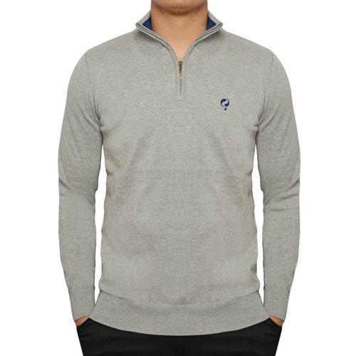 Men's Pullover Half Zip Stoke Greyhound / Skydiver