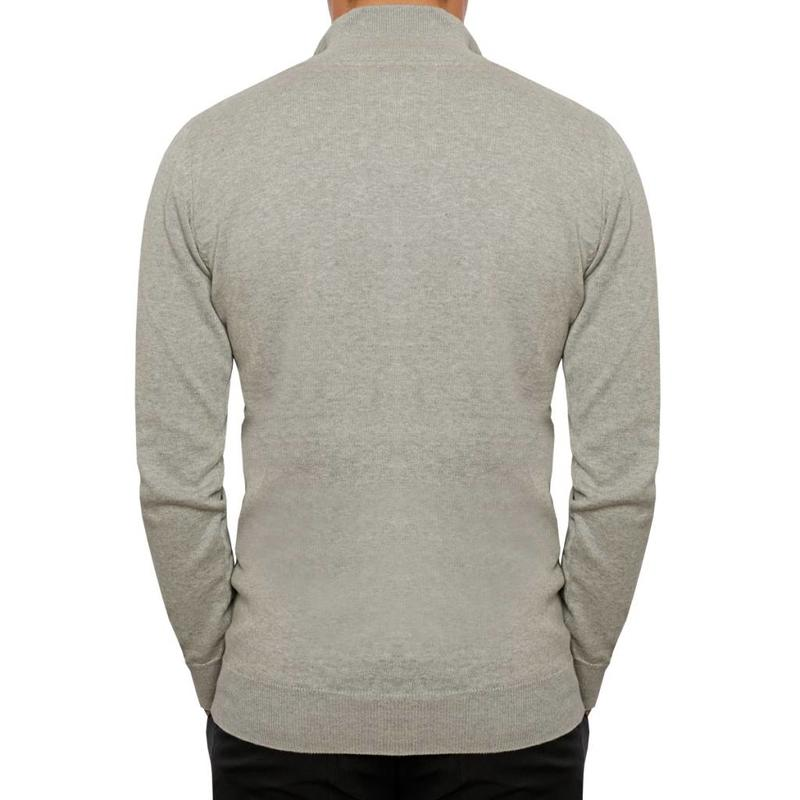 Men's Pullover Half Zip Stoke Greyhound / Skydiver