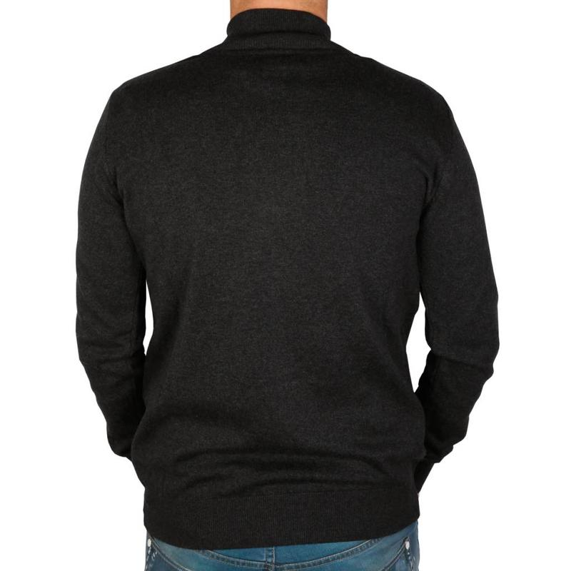 Heren Trui Full Zip Midford Anthracite