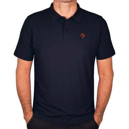 Q1905 Men's Polo JL Flag Deep Azul
