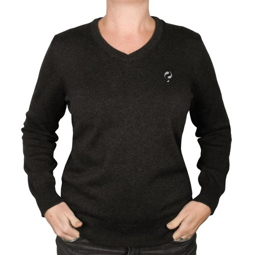 Women's Pullover V-neck Maywood Anthracite