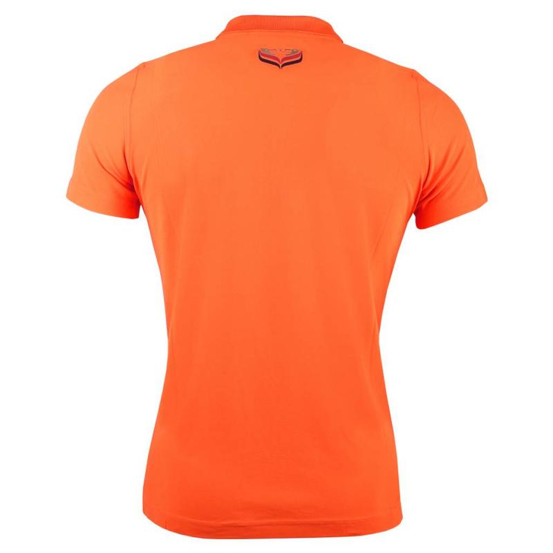 Women's Golf Polo Square Orange