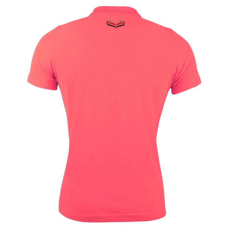 Dames Polo Square Scarlet Pink